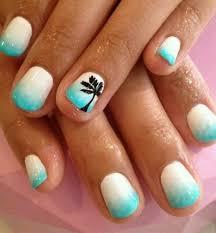 ocean nails pink nails pink nails and black silver