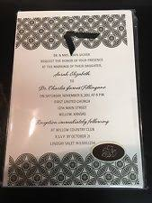hallmark wedding invitation and stationery ebay