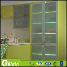 kitchen cabinets aluminum glass door l09c china high gloss cabinet aluminum glass door frames