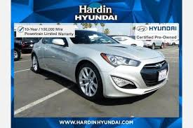 certified pre owned hyundai genesis coupe used 2013 hyundai genesis coupe for sale in anaheim ca edmunds