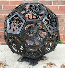 Custom Metal Fire Pits by Custom Steel Fire Pit Home Fireplaces Firepits Outdoor Custom