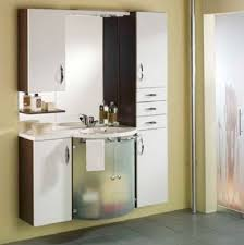 White Wall Bathroom Cabinet Wall Hung Bathroom Cabinets Makes Different Looks On Your Bathroom