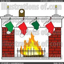 fireplace clipart brick fireplace pencil and in color fireplace