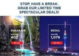 malaysia airlines limited time deals free seats promotion
