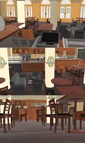 cafe and restaurants on mmd stages deviantart