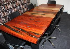 Timber Boardroom Table Rustic Solid Timber Boardroom Tables Made From Reclaimed Recycled