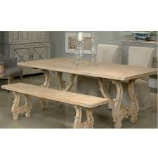 Baroque Coffee Table by Weathered Baroque Dining Table French Country