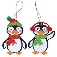 buy the penguin ornaments foam craft kit by creatology at michaels