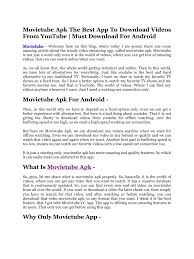 movietube apk movietube apk pdf pdf archive