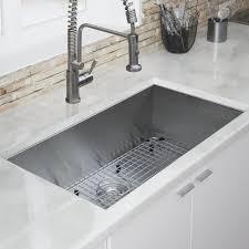 Ticor Kitchen Sinks Ticor Sinks Zero Radius 32 L X 19 W Kitchen Sink Reviews Wayfair