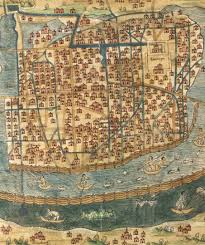 Tenochtitlan Map Rosenpub