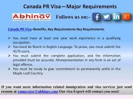 canada immigration visa u2014major requirements and processing
