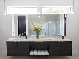 modern master bathroom with flat door standard height paint 1