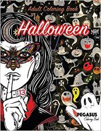 coloring book scary elegant coloring book halloween