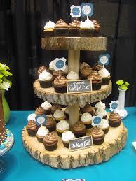 tree stump cake stand tree stump cupcake stand koyal rectangle reversible wood slab large