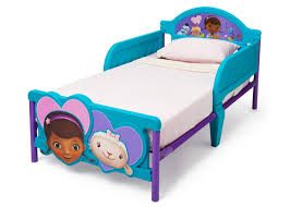 Doc Mcstuffins Toddler Bed With Canopy Plastic Toddler Bed With Mattress Included Home Beds Decoration