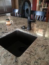 cambria bradshaw with oil rubbed bronze faucet and e granite
