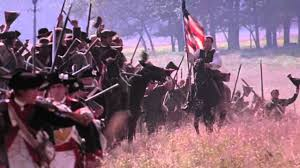 Horse With American Flag Flag Scene From The Patriot Mel Gibson Movie Youtube