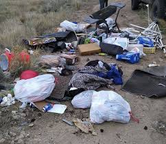 are for illegal dumping the big m