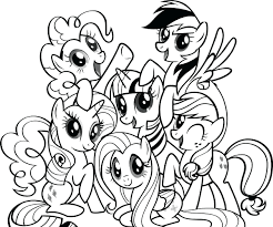 printable pony colouring pages free bead patterns best my little