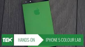 mendmyi iphone 5 colour lab conversion green hands on review