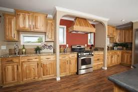 what paint color goes best with hickory cabinets colony factory crafted homes modular and manufactured homes