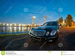mercedes headlights at night mercedes e class w211 stock photo image of filled automotive