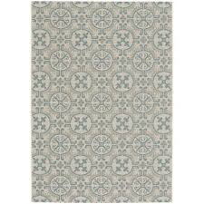 Blue Indoor Outdoor Rug 4 X 6 Small Spa Blue Indoor Outdoor Rug Finesse Tile Rc Willey