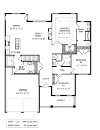 four bedroom house plans by rosewood home builders custom house softplan