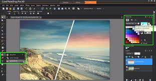creating gradients with the gradient fill tool in paintshop pro x9