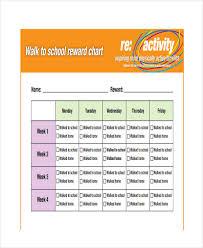 9 reward chart templates word pdf free u0026 premium templates