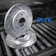 lexus cerritos hours amazon com eline drilled slotted brake rotors ceramic pads kit