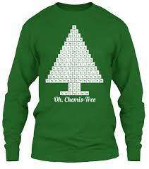 Tree Shirt Oh Chemis Tree Science Oh Chemis Tree Products