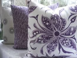 purple throw pillows for sofa great home decor design styles
