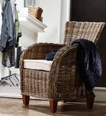 buy nova solo wickerworks baroness natural grey rattan chair with
