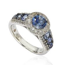levian wedding rings suzy levian sterling silver 3 61ct tgw sapphire and bridal
