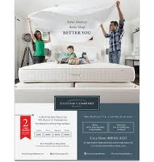 Custom Comfort Mattress Custom Comfort Mattress Advertising Marketing Branding