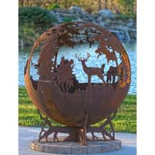 Sphere Fire Pit by Up North 37