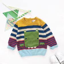 children autumn fashion sweater boy clothes boy 100