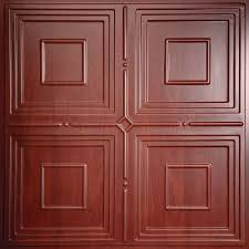 red classic ceiling tiles ceilings home depot