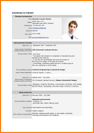 Resume Sample Download For Freshers by 9 Standard Cv Format Doc Cv For Teaching