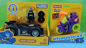 imaginext batmobile with lights fisher price imaginext batman batmobile with dc super friends and