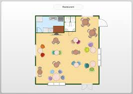4 best images of small office layout visio simple restaurant