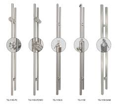 Sliding Patio Door Handle Set by Stiletto Handles Specialty Doors And Hardware