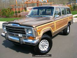 jeep j10 golden eagle 1988 jeep grand wagoneer information and photos momentcar