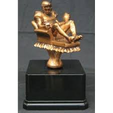 Fantasy Football Armchair Quarterback Trophy Quarterback