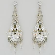 chandelier wedding earrings jayne bridal earrings chandelier wedding earrings