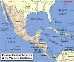 map central mexico map of mexico and central america central america subcontinent