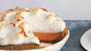 sweet potato pie with marshmallow meringue recipe bon appetit