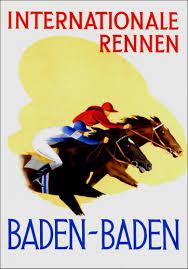 Pferderennen Baden Baden Baden Baden In Alten Ansichten Galopprennen Um 1930